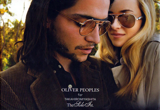 Decouvrez la collection de lunettes solaires Oliver People chez Zaff Optical